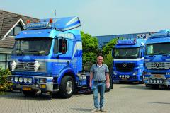 Dutch haulier and Mercedes fan Leo Swijnenburg runs a fleet of 26 immaculate examples