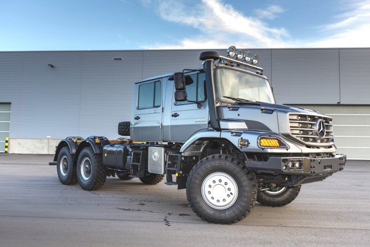 Mercedes Benz Heavy Duty Off Road Vehicle