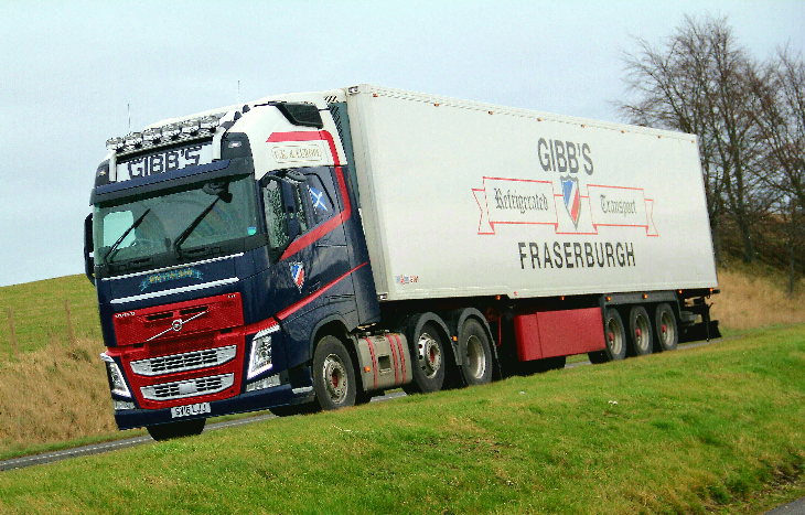 Gibbs of Fraserburgh Volvo FH