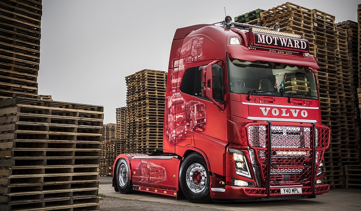 Motward S Latest Volvo Fh16 750 A Tribute To Much Loved Boss