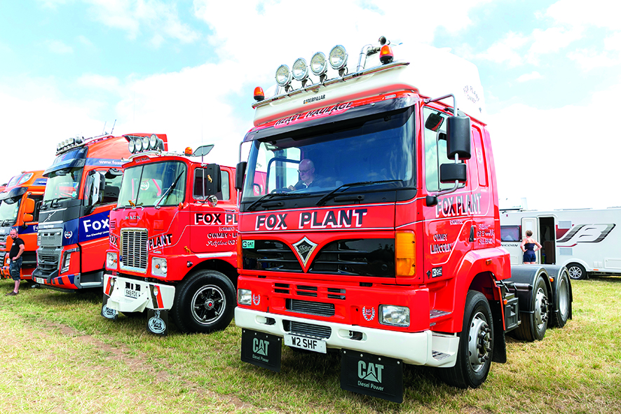 Awesome show trucks and a festival atmosphere
