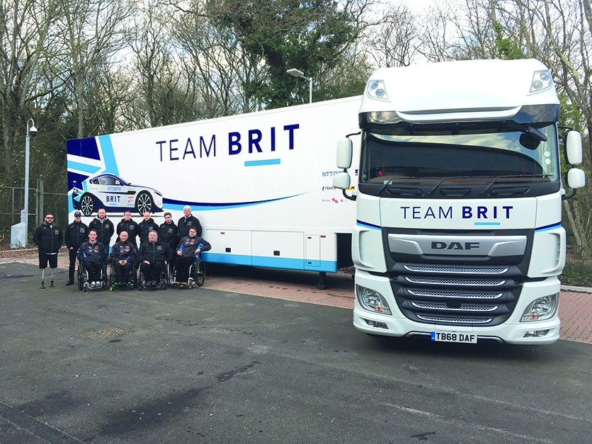 An amazing opportunity on offer with TeamBRIT