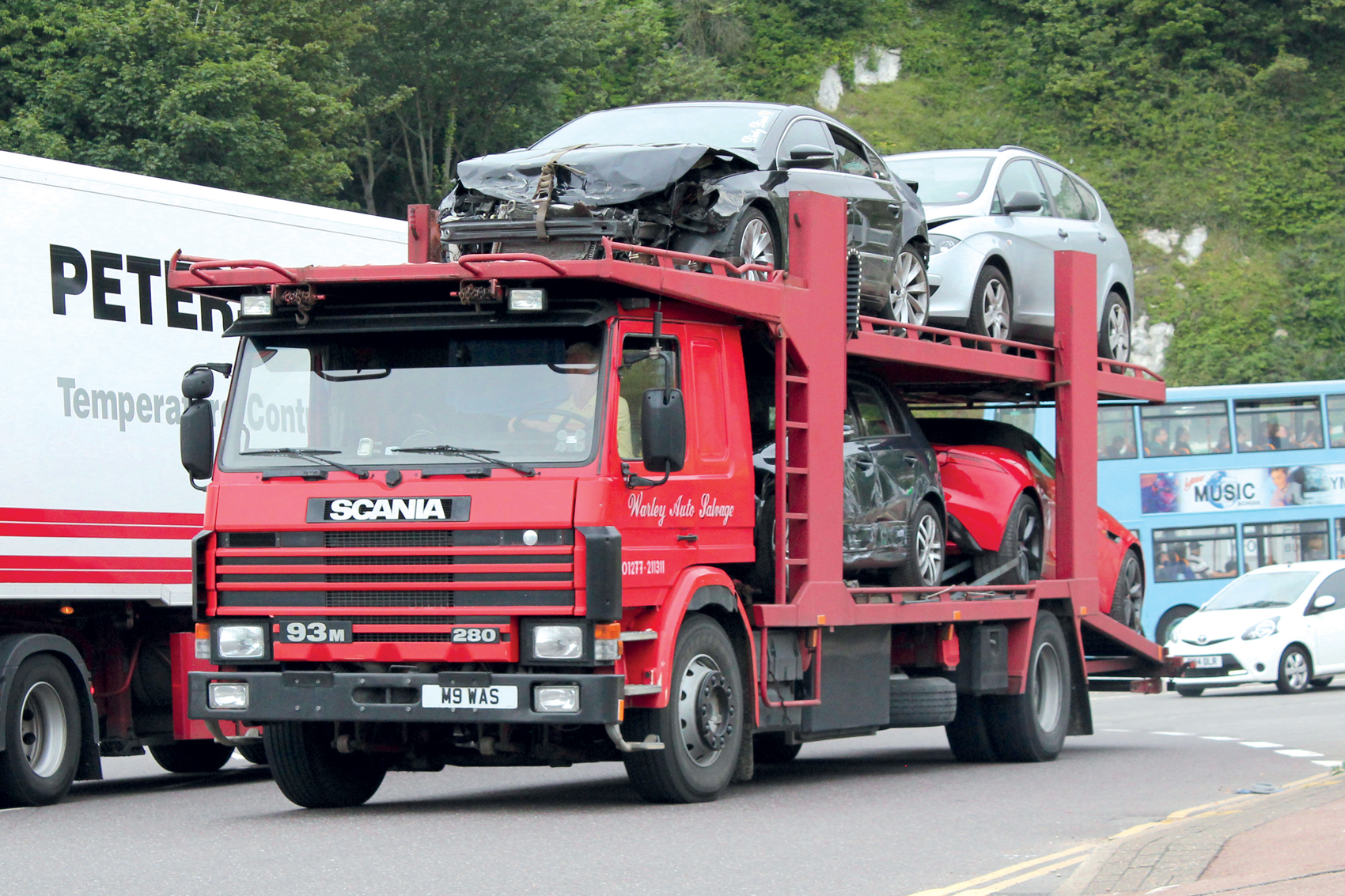 Discount Auto Salvage >> Snapshot Warley Auto Salvage Of Essex S Scania 93m By John