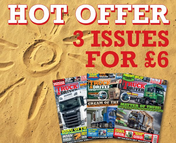 Truck and Driver Hot Offer